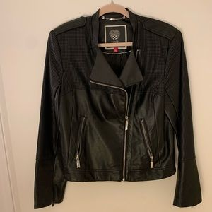 Vince Camuto faux leather jacket